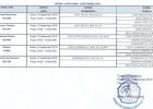 jadwal ujian skripsi program studi akuntansi 05 September  2019